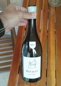 Bouteille de Reuilly 2014